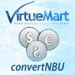 Обновление курсов валют Virtuemart поНБУ