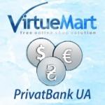 Обновление курсов валют Virtuemart поПриватБанк UA